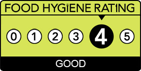 Gainsborough Grill - FSA rating - 4 stars
