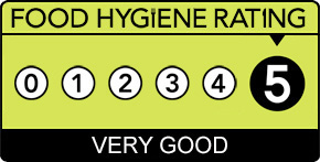 Food Hygeine Rating - 5 star