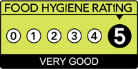 Food hygiene rating is '5': Very good