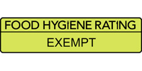 Food Hygiene Rating Scheme: Exempt