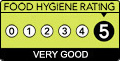 Food Standards Hygiene Rating 5